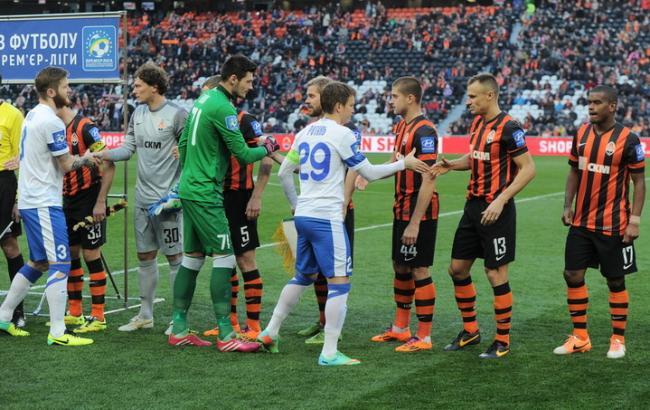 Футбол украины днепр шахтер трансляция