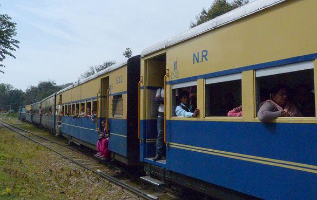Фото: поезд в Индии (flickr.com)