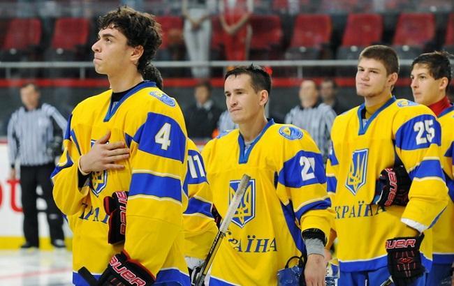 Фото: Збірна України з хокею