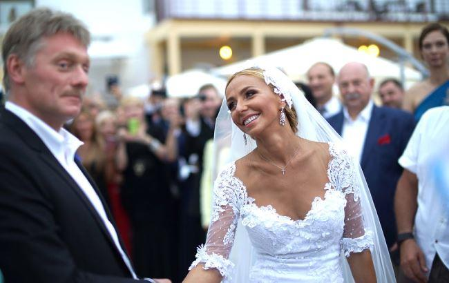 Свадьба дмитрия пескова и татьяны навки фото