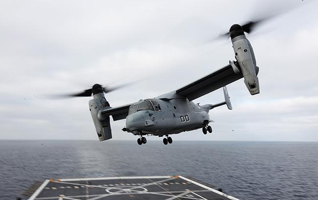 Уберегов Австралии разбился конвертоплан США с26 военнослужащими