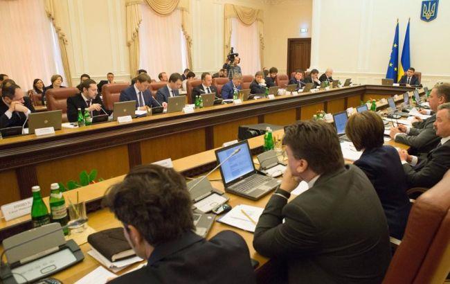 Фото: заседание Кабинета министров