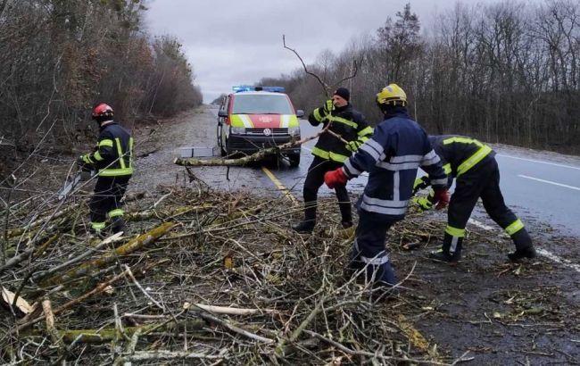 Сильний вітер валить дерева і зриває дахи будинків: Україну накрила негода