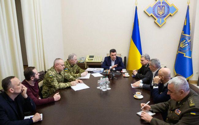 В РНБО обговорили питання реінтеграції Донбасу і створення закону про тероборону