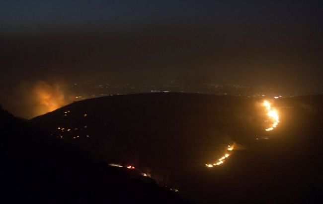 Фото: пожары в Израиле продолжают распространяться