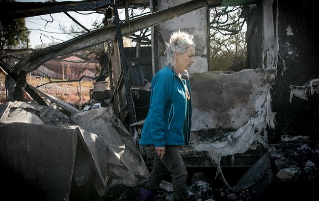 Фото: наслідки пожеж в Ізраїлі