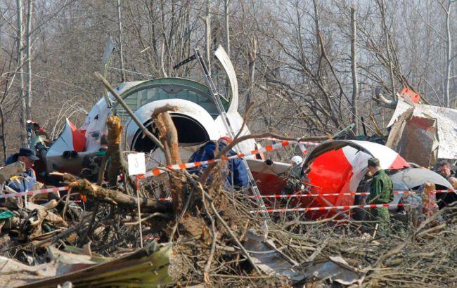 Фото: родственники жертв катастрофы под Смоленском против эксгумации погибших