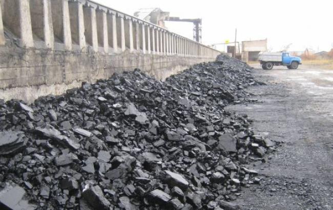 Добыча угля в Украине в октябре сократилась на 58,8% - до 2,3 млн т, - Госстат
