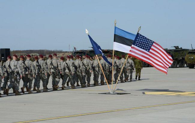 Фото: военные США в Эстонии