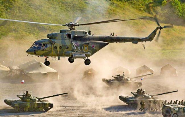 Фото: учения российской армии