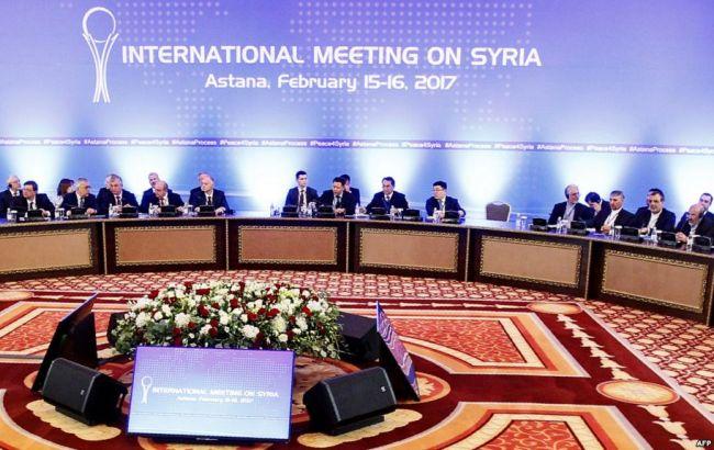 Переговоры поСирии продлятся вАстане 12