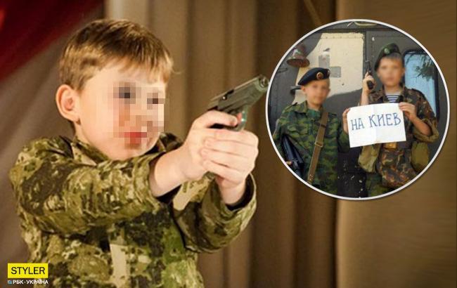 """""""Дают в руки автоматы"""": боевики развернули сеть военных лагерей для детей"""