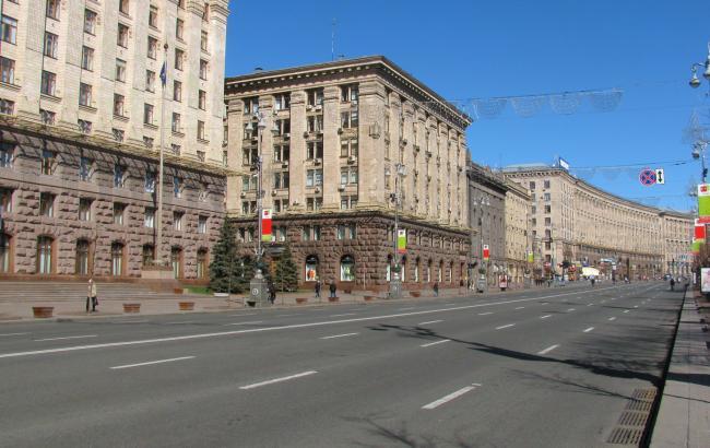 17августа с23:00 будет ограничено дорожное движение вдоль улицы Крещатик
