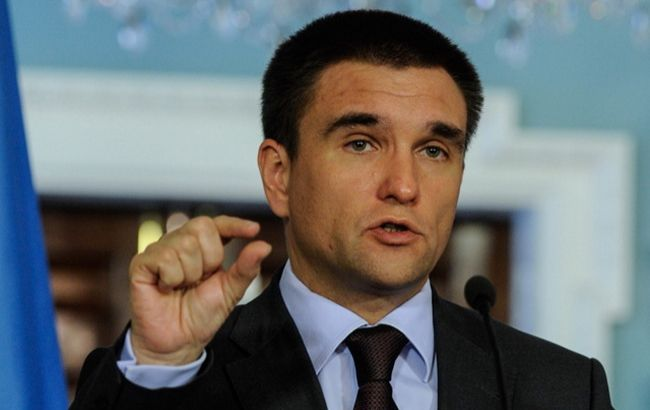 Клімкін: Росія у Брюсселі висунула неприйнятні вимоги