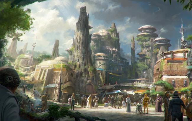 """Диснейленд откроет зоны по мотивам """"Звездных войн"""""""