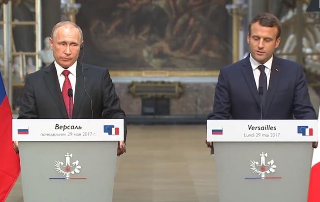 В сети представили, каким могло быть обращение Макрона к Путину