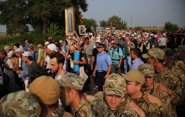 Крестный ход в Киеве будут охранять 6 тыс. силовиков