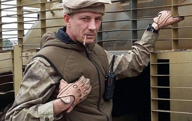 Фото: российский военный Александр Сагайдак