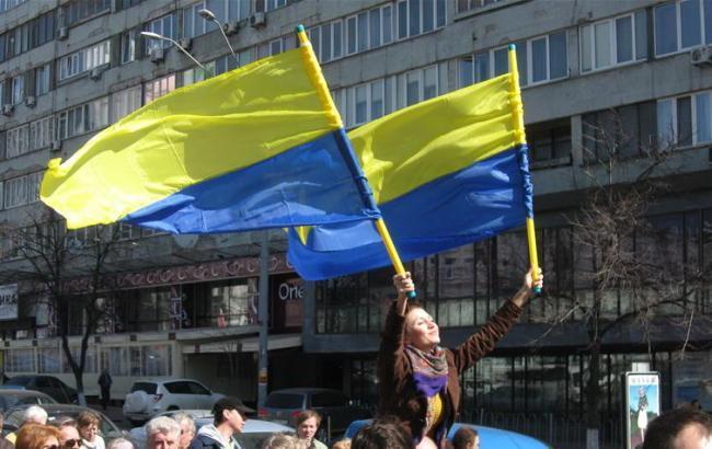 Фото: вступление Украины в ЕС 46% украинцев