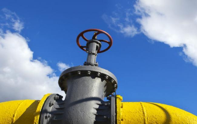 Украина импортировала за 21 день октября 600 млн куб. м газа