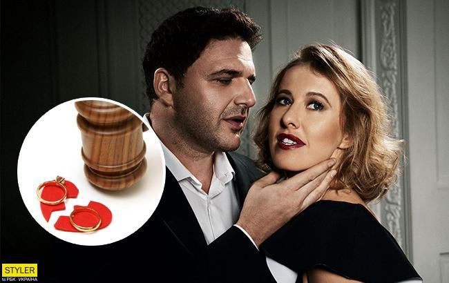 Ксения Собчак разводится с мужем: стала известна причина
