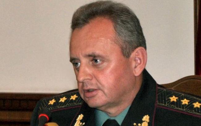 Украина усилила военную группировку на админгранице с Крымом, - Муженко