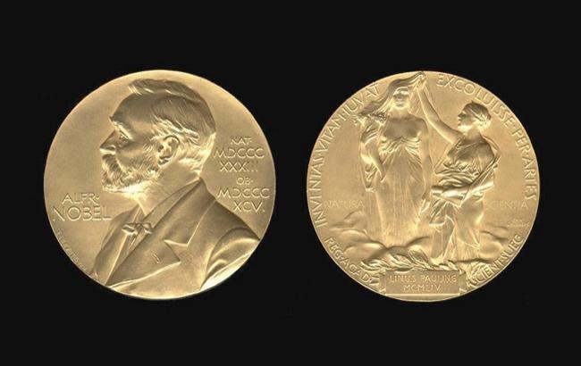 Фото: Нобелівська премія (rian.com.ua)