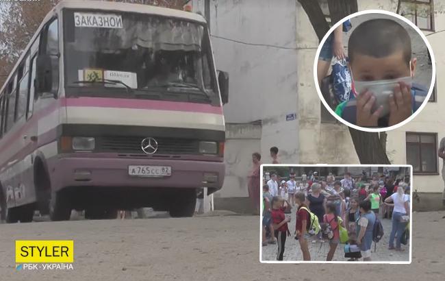 На сборы дали час: жительница оккупированного Армянска рассказала, как эвакуировали детей
