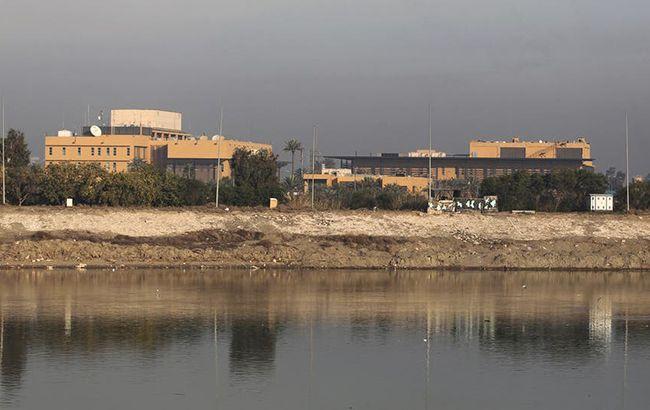 Посольство США в Багдаде снова подверглось обстрелу