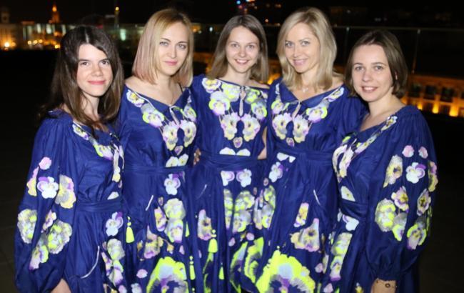 Фото: жіноча збірна України на Всесвітній шаховій Олімпіаді (facebook.com/ukrainianchess)
