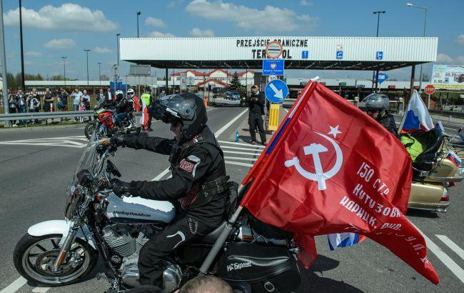 Байкерам Путина отказали во въезде в Польшу