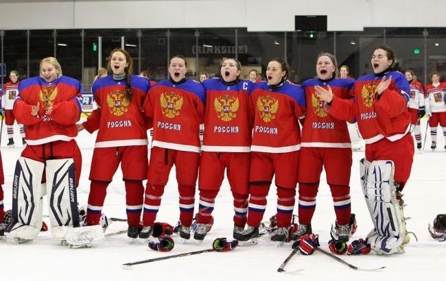 Фото: Российские хоккеистки