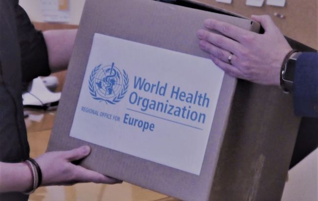 ВОЗ передала Украине дополнительный набор реагентов для выявления коронавируса