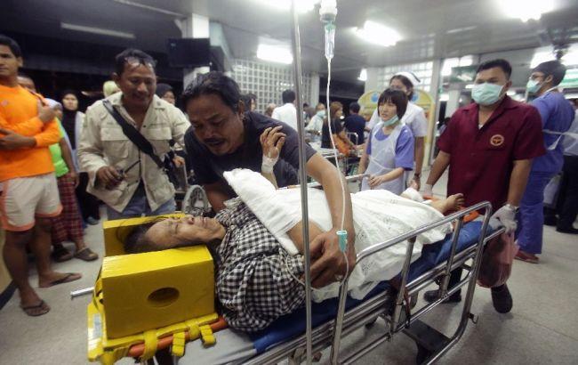 Фото: пострадавшие от взрыва в Таиланде