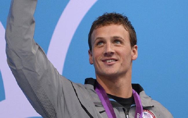 Фото: олімпійський чемпіон із плавання Раян Лохте