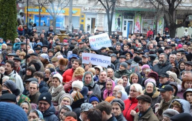 У Кіровограді відмовилися перейменовувати місто