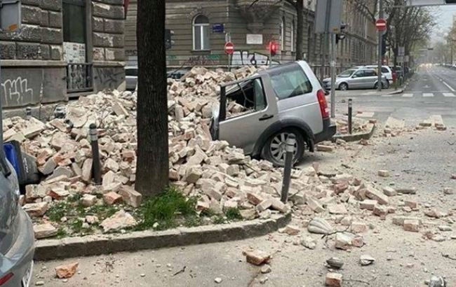 В Хорватии произошло два мощных землетрясения
