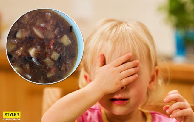 Огурцы с плесенью: в сети скандал из-за питания в киевском детсаде
