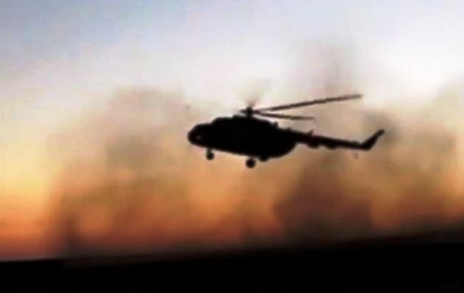 Падение истребителя Су-27: появилось видео поисковой операции