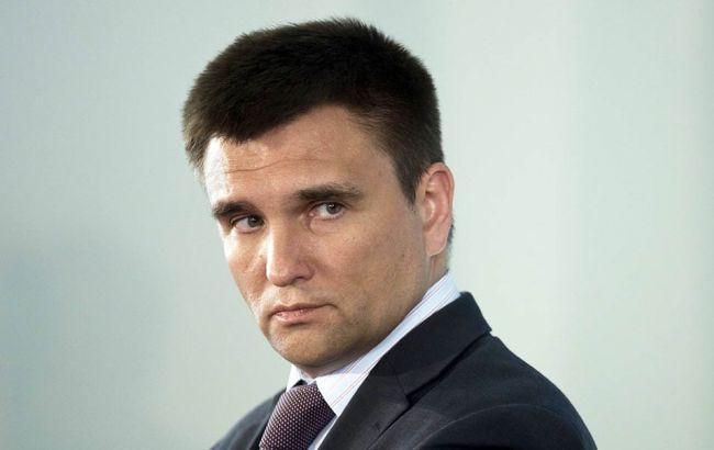 Фото: Павло Клімкін бере участь у засіданні