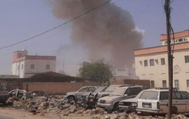 Фото: мишенью нападения был правительственный дом