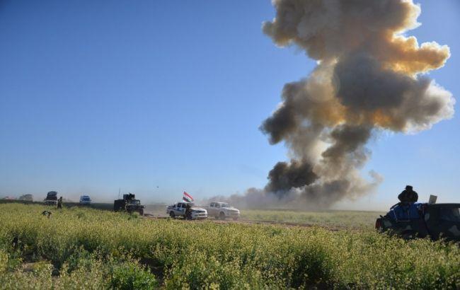 Фото: возле Мосула около 1000 человек отравились токсичными газами