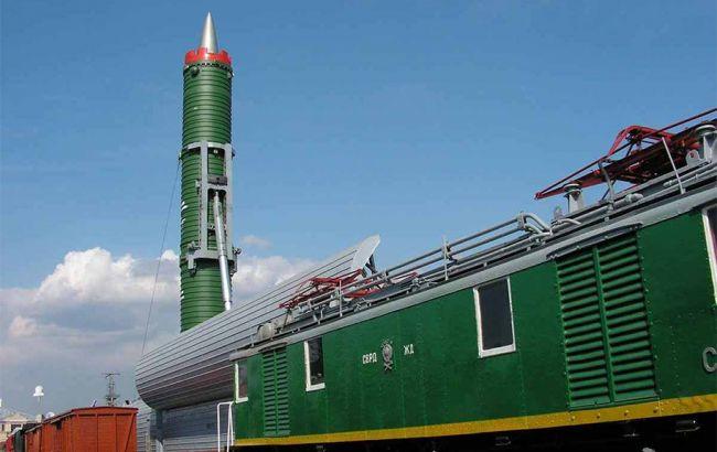 """Фото: железнодорожный ракетный комплекс """"Баргузин"""""""