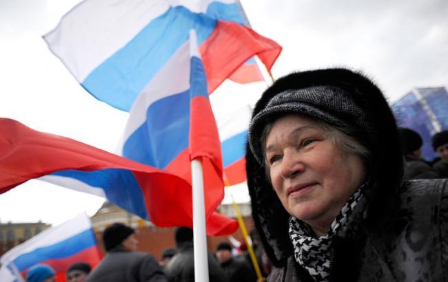 Жители России стали лучше относиться кСША иЕС— Опрос