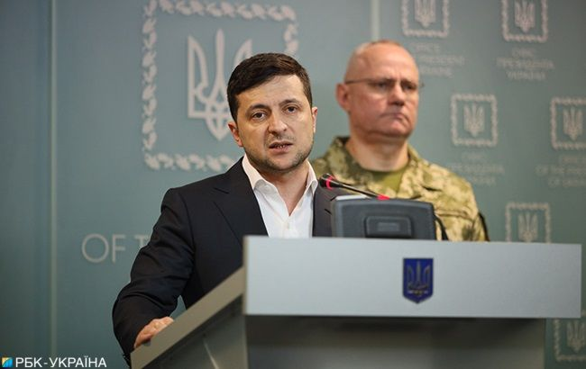Зеленскому передали на утверждение стратегию нацбезопасности Украины