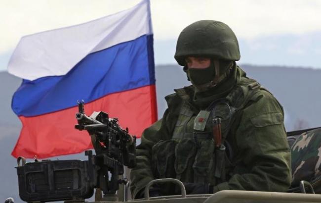Фото: российский военнослужащий