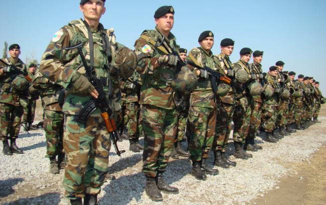 Фото: військові навчання