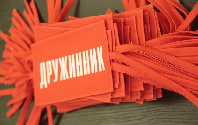 Фото: На півострові з'явилися народні дружинники (openrussia.org)