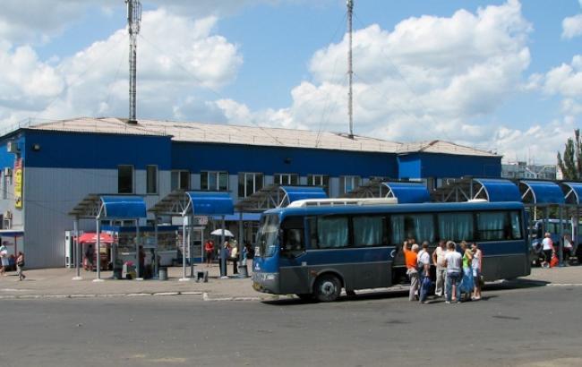 Автобусні перевезення з Донецька здійснюються за 15 напрямами