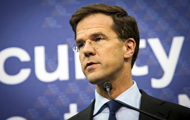 Фото: премьер-министр Нидерландов Марк Рютте